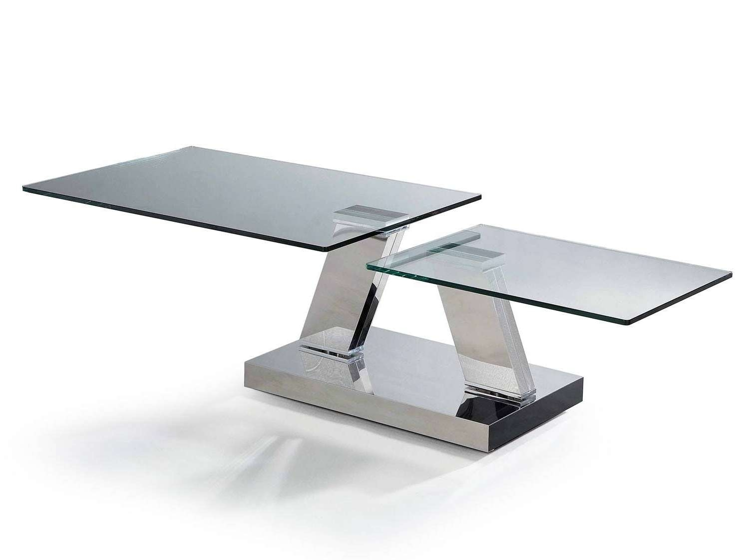 The Best Revolving Glass Coffee Tables Pictures On Awesome Throughout Popular Elise Coffee Tables (View 11 of 20)
