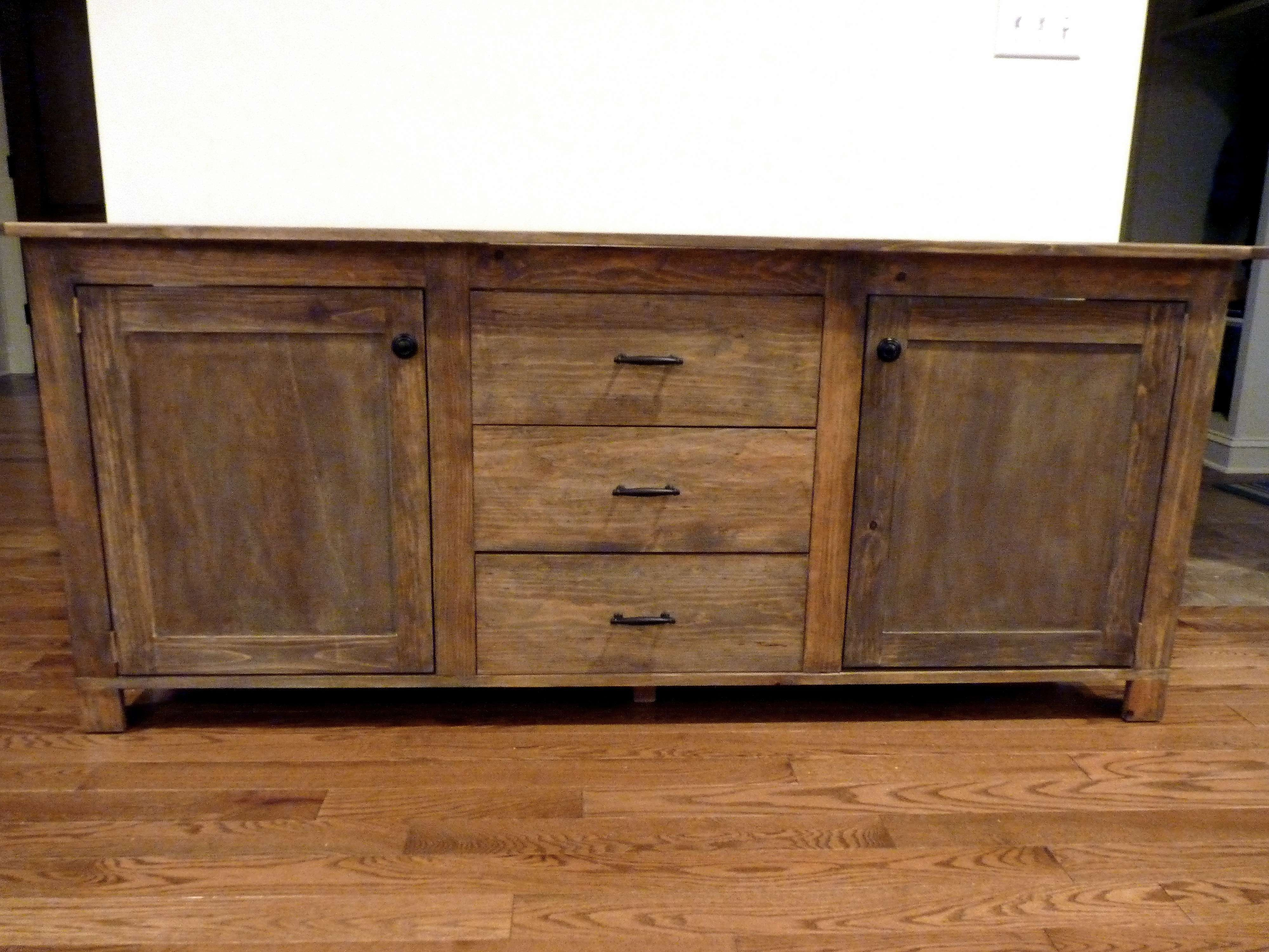 The Best Rustic Sideboards And Buffets Inside Rustic Buffet Sideboards (View 5 of 20)