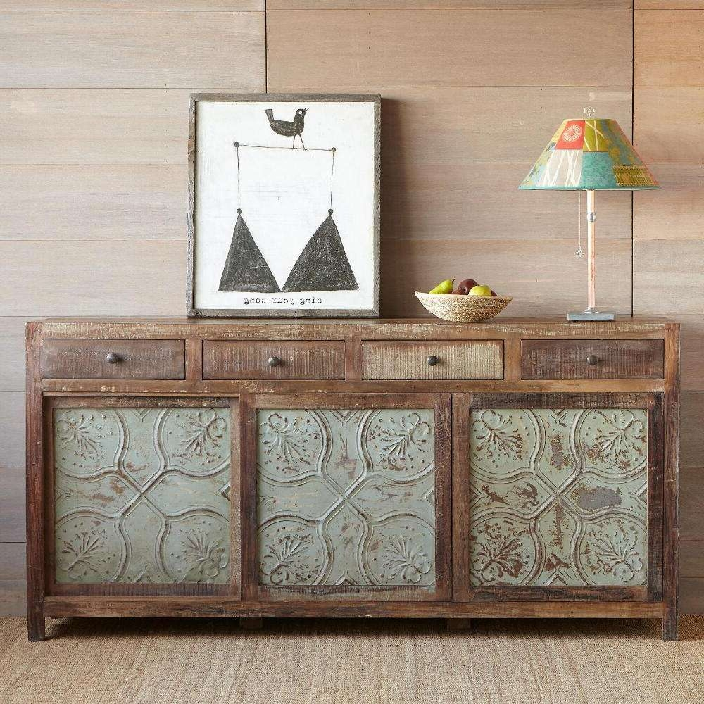The Character Reclaimed Wood Sideboard | Wood Furniture With Regard To Reclaimed Wood Sideboards (View 16 of 20)