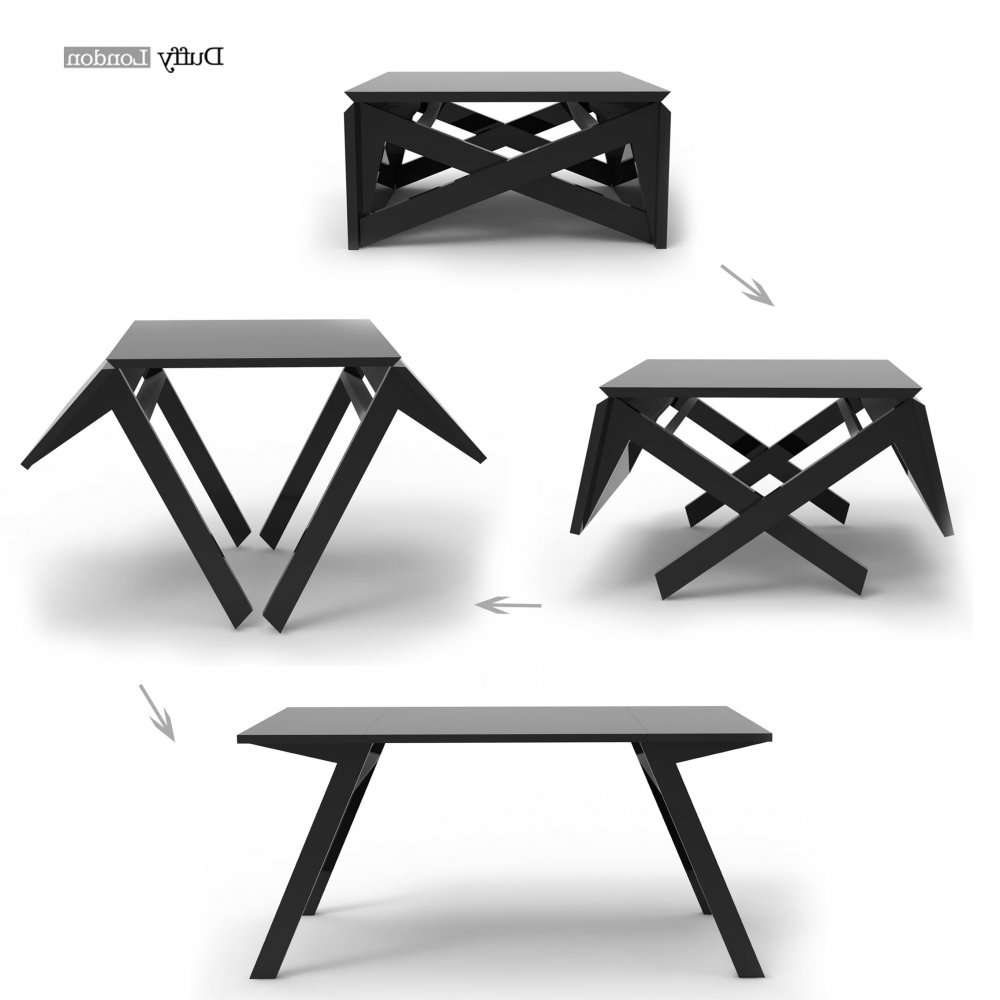 The Mk1 Transforming Coffee Table Can Convert Into A Dining Table Regarding Best And Newest Coffee Table To Dining Table (View 3 of 20)