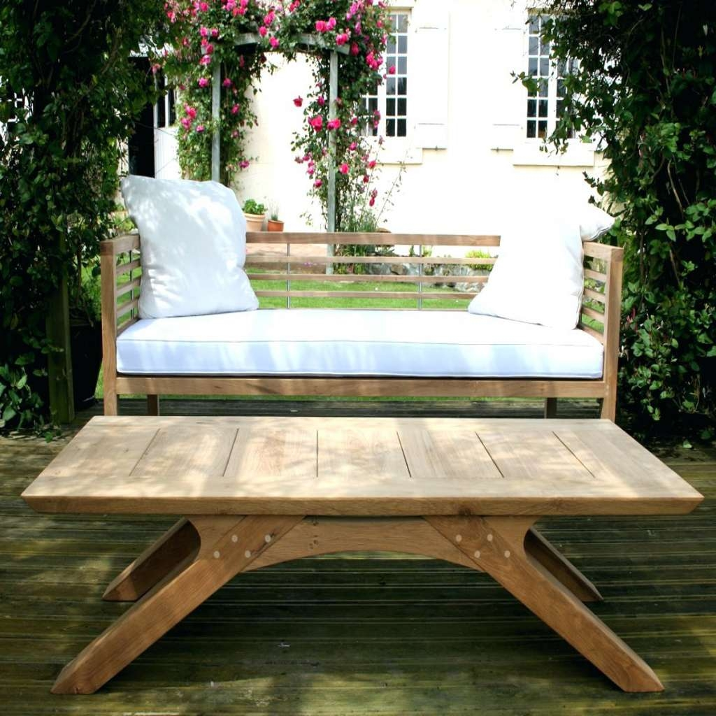 The Most Elegant Garden Coffee Table Intended For Motivate – The Pertaining To Favorite Wooden Garden Coffee Tables (View 15 of 20)