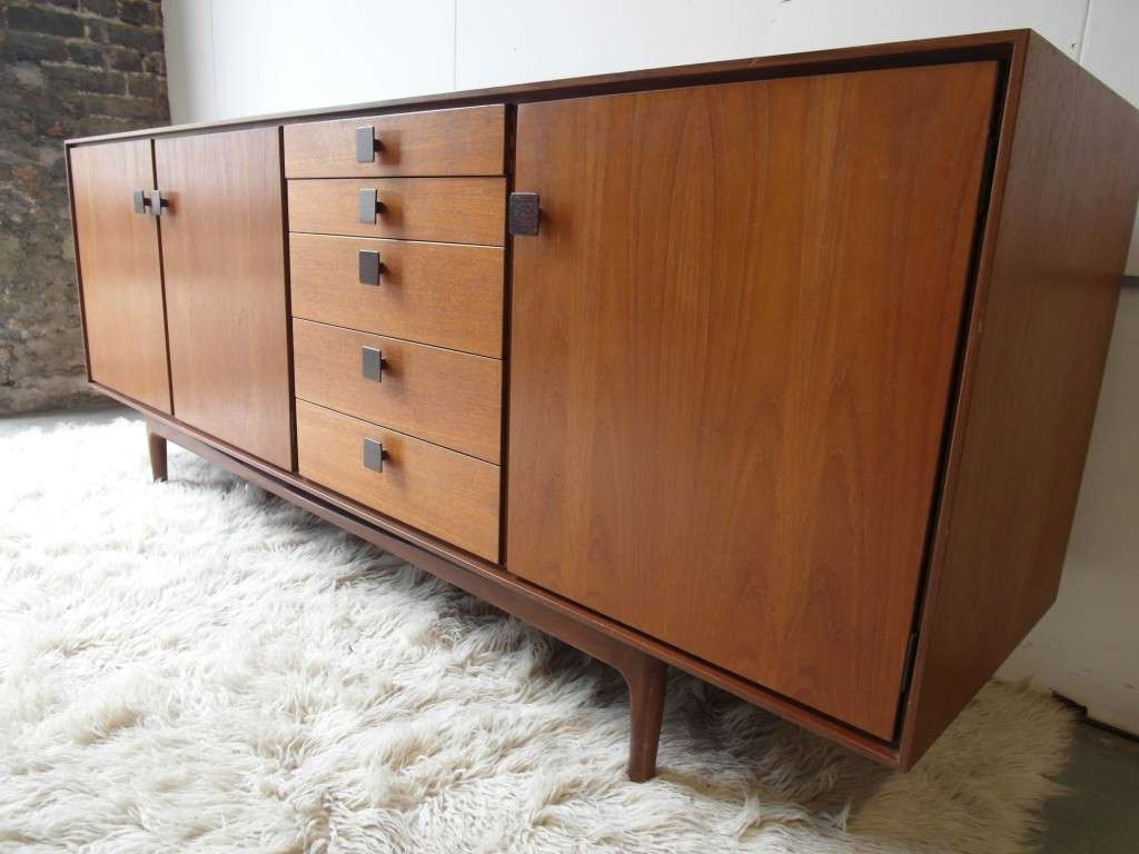 The Retrobarn » Vintage Ib Kofod Larsen Sideboard In Teak And With Regard To G Plan Vintage Sideboards (View 7 of 20)
