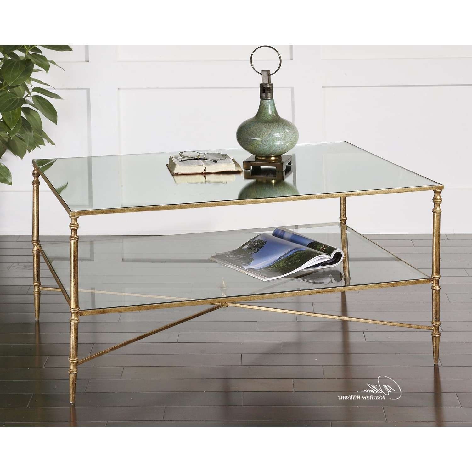 Featured Photo of Mirror Glass Coffee Table