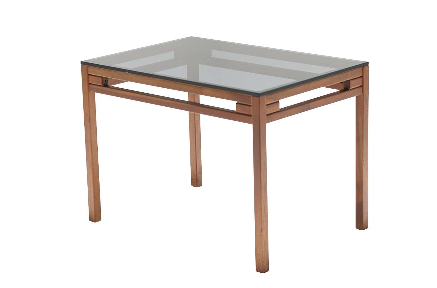 The Vintage Hub With 2018 Retro Teak Glass Coffee Tables (View 16 of 20)