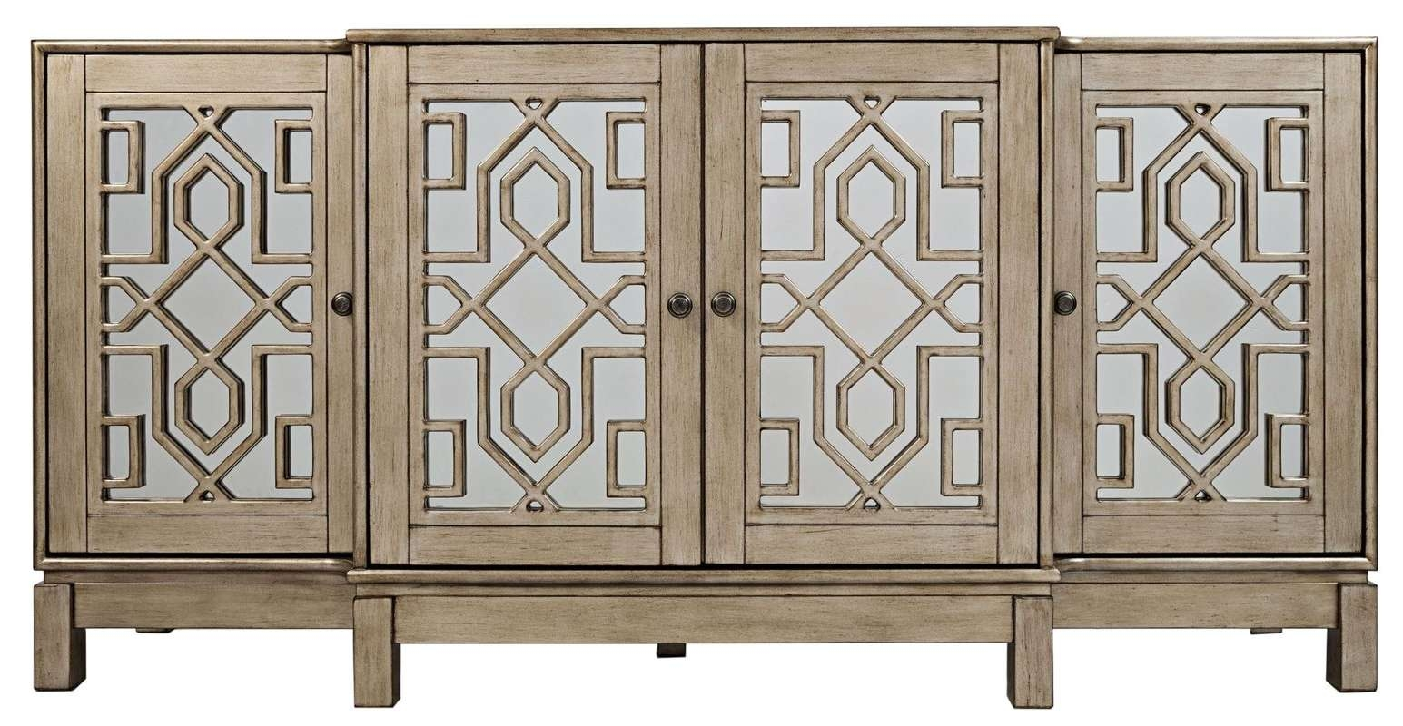 Three Posts Stillwater Sideboard & Reviews | Wayfair Pertaining To Cheap Sideboards Cabinets (View 7 of 20)