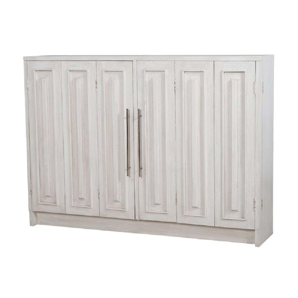 Titan Lighting Parsons Manor White Wash Buffet With 2 Doors Tn With Whitewash Buffets Sideboards (View 7 of 20)