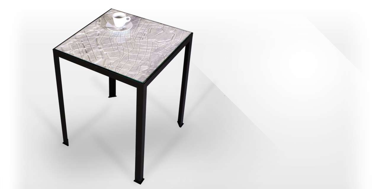 """Tokyo"""" Marble Coffee Table From The City Collectionmaison & Maison Inside Well Known Tokyo Coffee Tables (View 16 of 20)"""