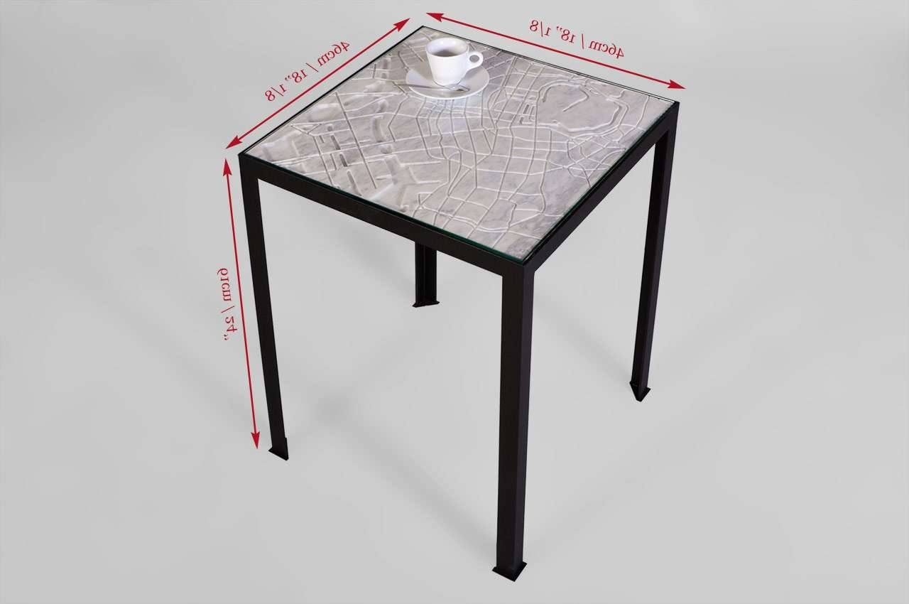 """Tokyo"""" Marble Coffee Table From The City Collectionmaison & Maison Regarding Most Recent Tokyo Coffee Tables (View 17 of 20)"""