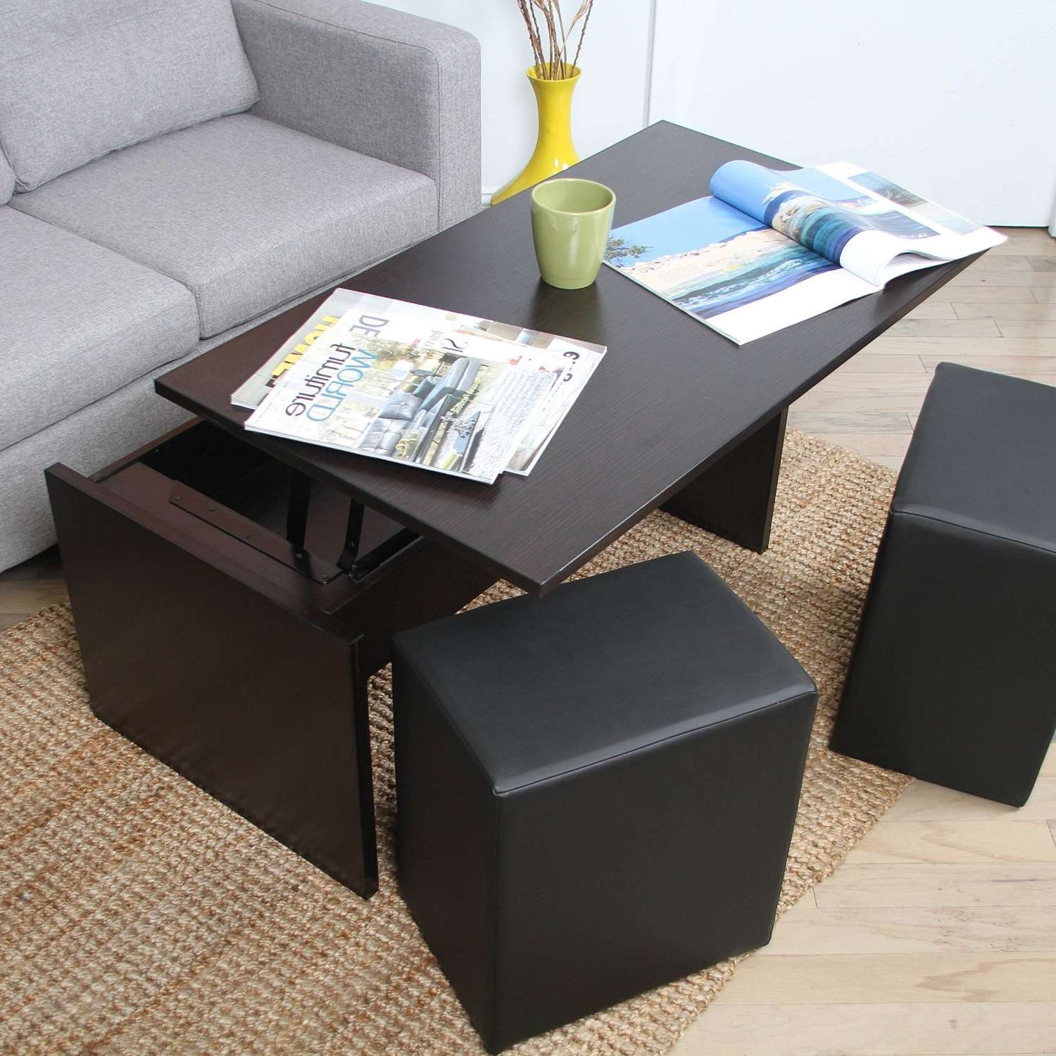 Total Fab: Form & Function: Cocktail And Coffee Tables With Within Most Recently Released Coffee Tables With Seating And Storage (View 6 of 20)