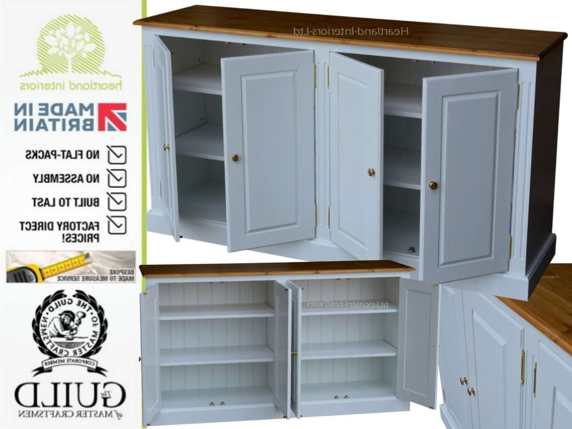 """Traditional Painted 5ft 4"""" Wide Storage Cupboard, Sideboard Cpsb With Regard To Painted Sideboards (View 20 of 20)"""