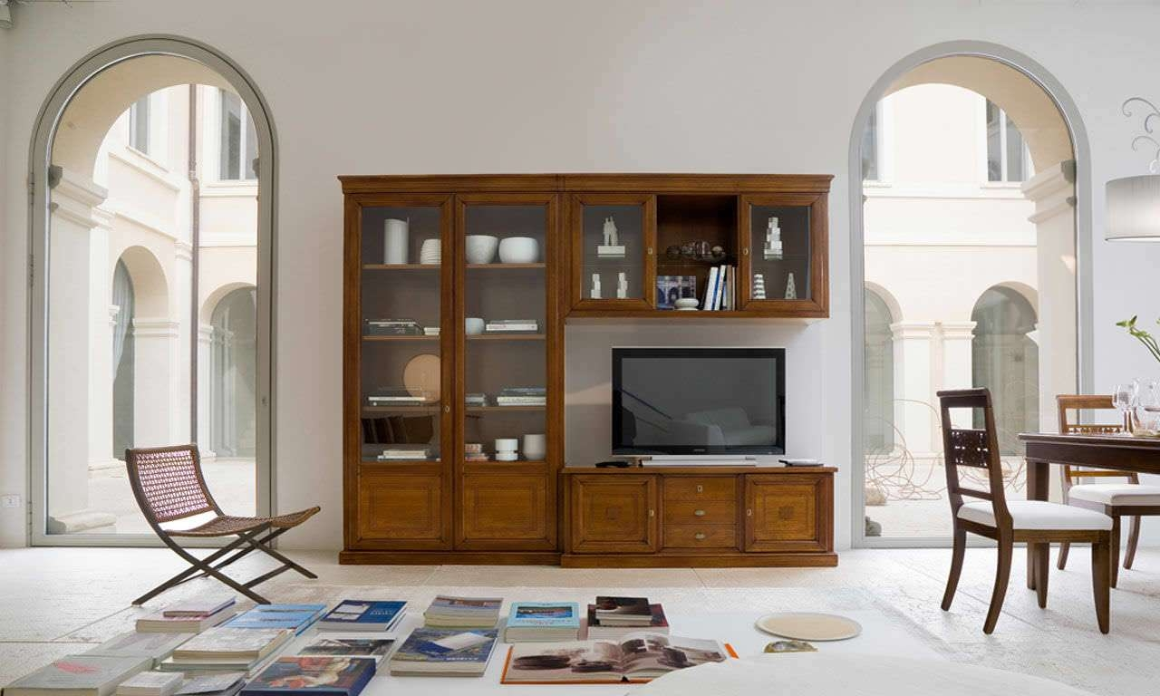 Traditional Tv Cabinet / Wooden – Artepiergiorgio Pradella Intended For Traditional Tv Cabinets (View 10 of 20)