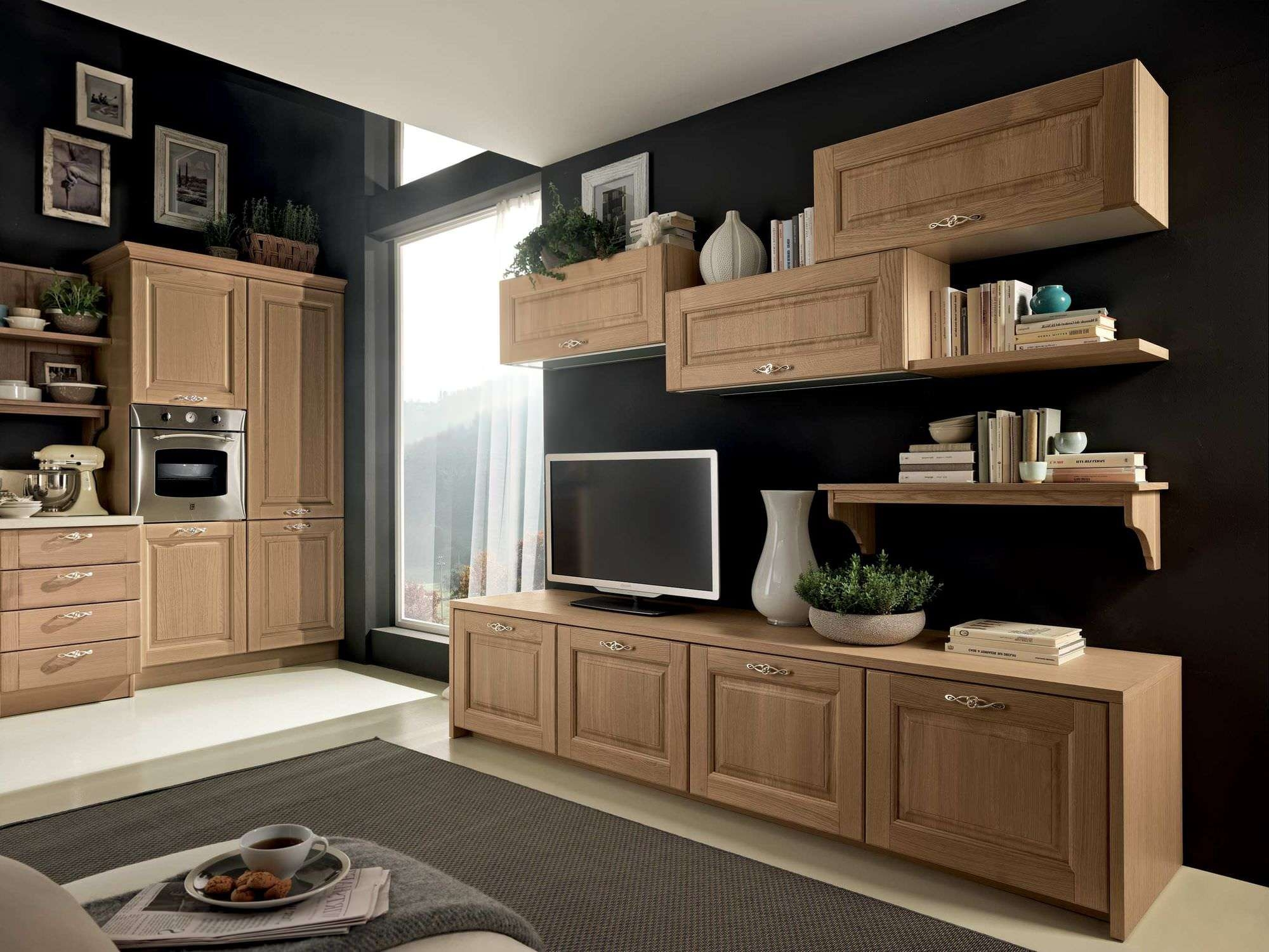 Traditional Tv Cabinet / Wooden – Bolgheri – Stosa Cucine Regarding Traditional Tv Cabinets (View 2 of 20)