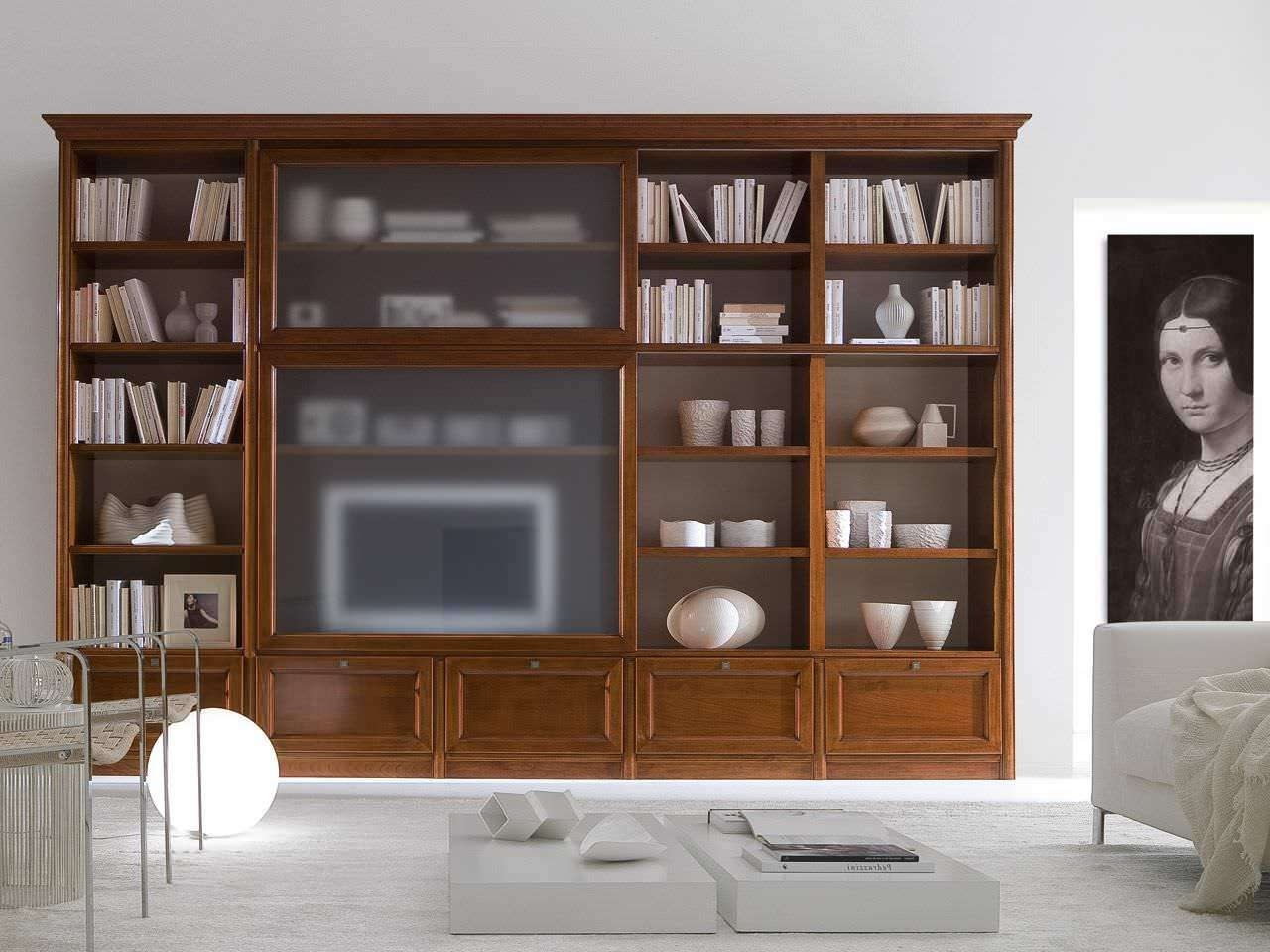 Traditional Tv Cabinet / Wooden – Livingpierangelo Sciuto Inside Traditional Tv Cabinets (View 13 of 20)