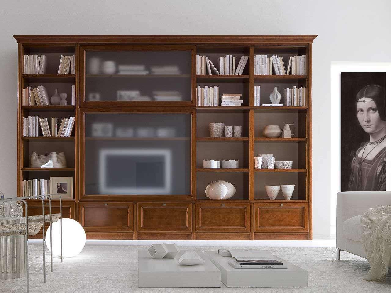 Traditional Tv Cabinet / Wooden – Livingpierangelo Sciuto Inside Traditional Tv Cabinets (View 8 of 20)