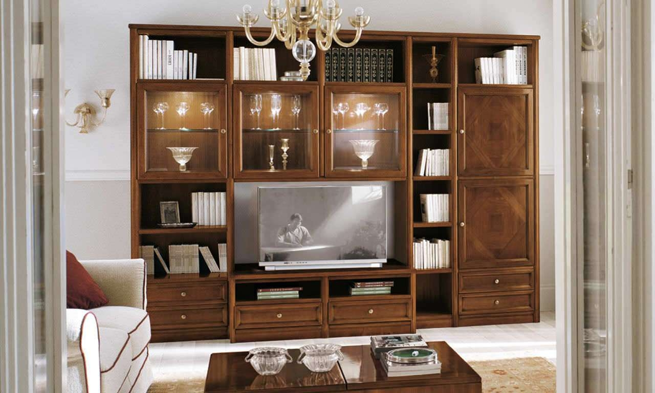 Traditional Tv Cabinet / Wooden – Livingpierangelo Sciuto Regarding Traditional Tv Cabinets (View 15 of 20)