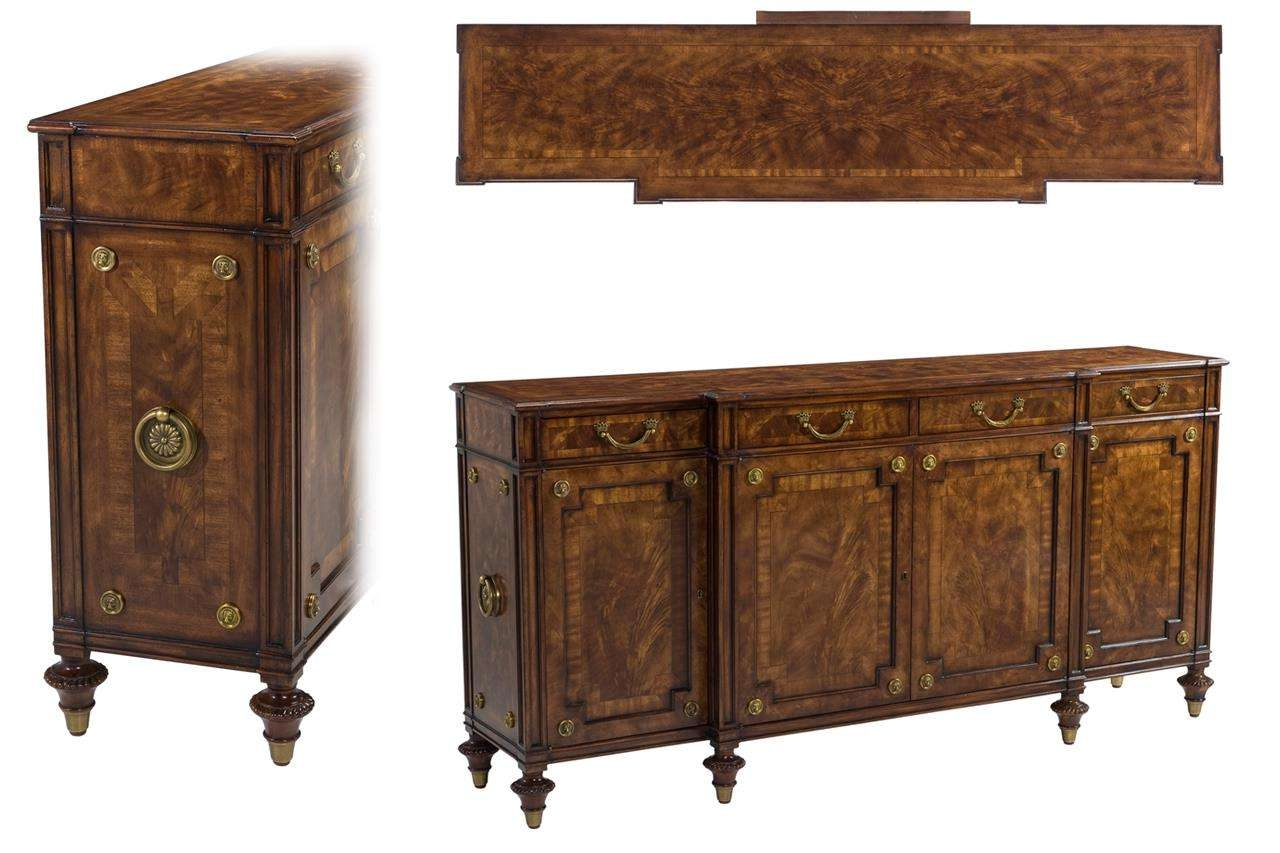 Traditional Walnut Server With Server Sideboards Furniture (View 20 of 20)