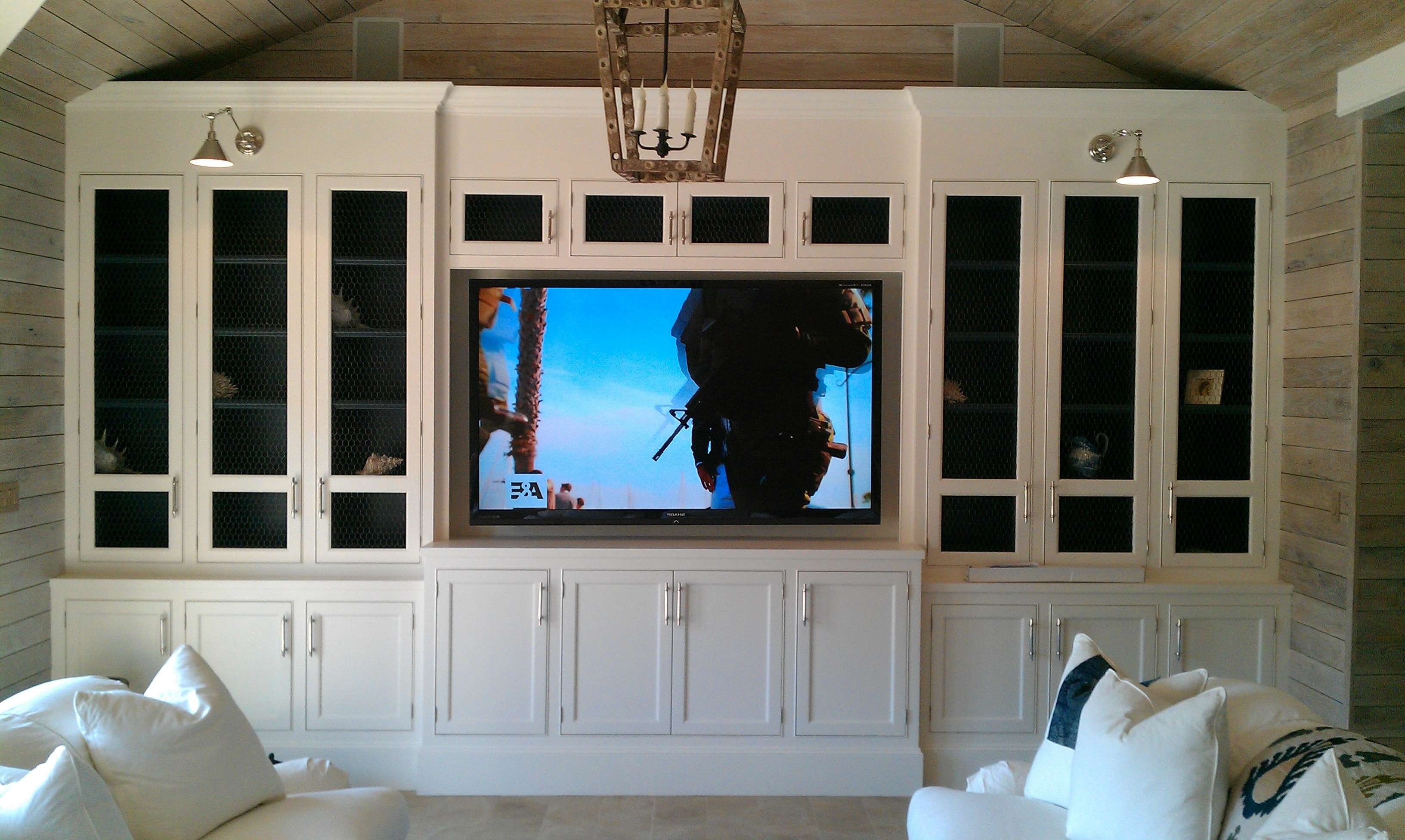 Traditional Wood Storage Cabinets With Doors For Tv Cabinets With Pertaining To Traditional Tv Cabinets (View 11 of 20)