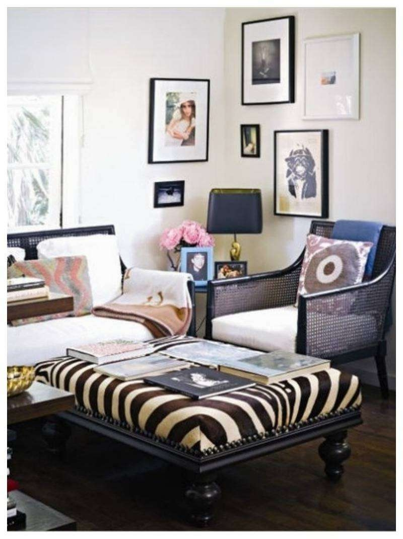 Trendy Animal Print Ottoman Coffee Tables Inside Coffee Table : Tommy Bahama Home Kilimanjaro Heather Button Tufted (View 6 of 20)