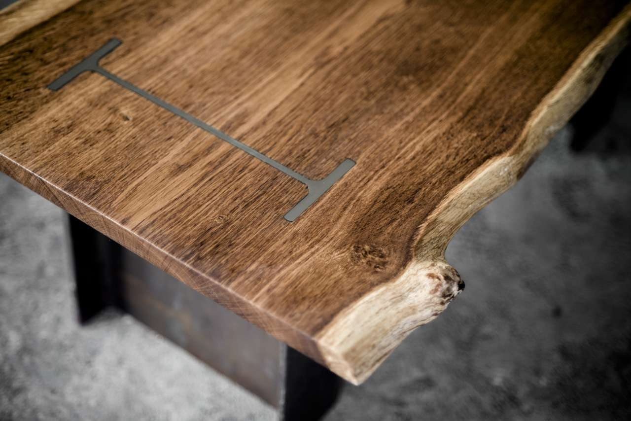 Trendy Bespoke Coffee Tables For I Beam Coffee Table 1 – Bespoke, Handmade Furniture From English Oak (View 13 of 20)