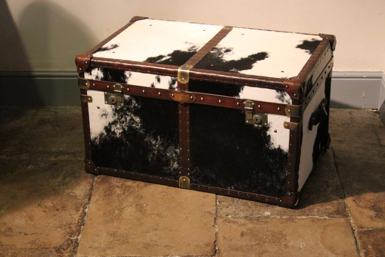 Trendy Bespoke Coffee Tables Throughout Bespoke Cowhide Trunk / Coffee Table – Trunks: Leather, Crocodile (View 15 of 20)