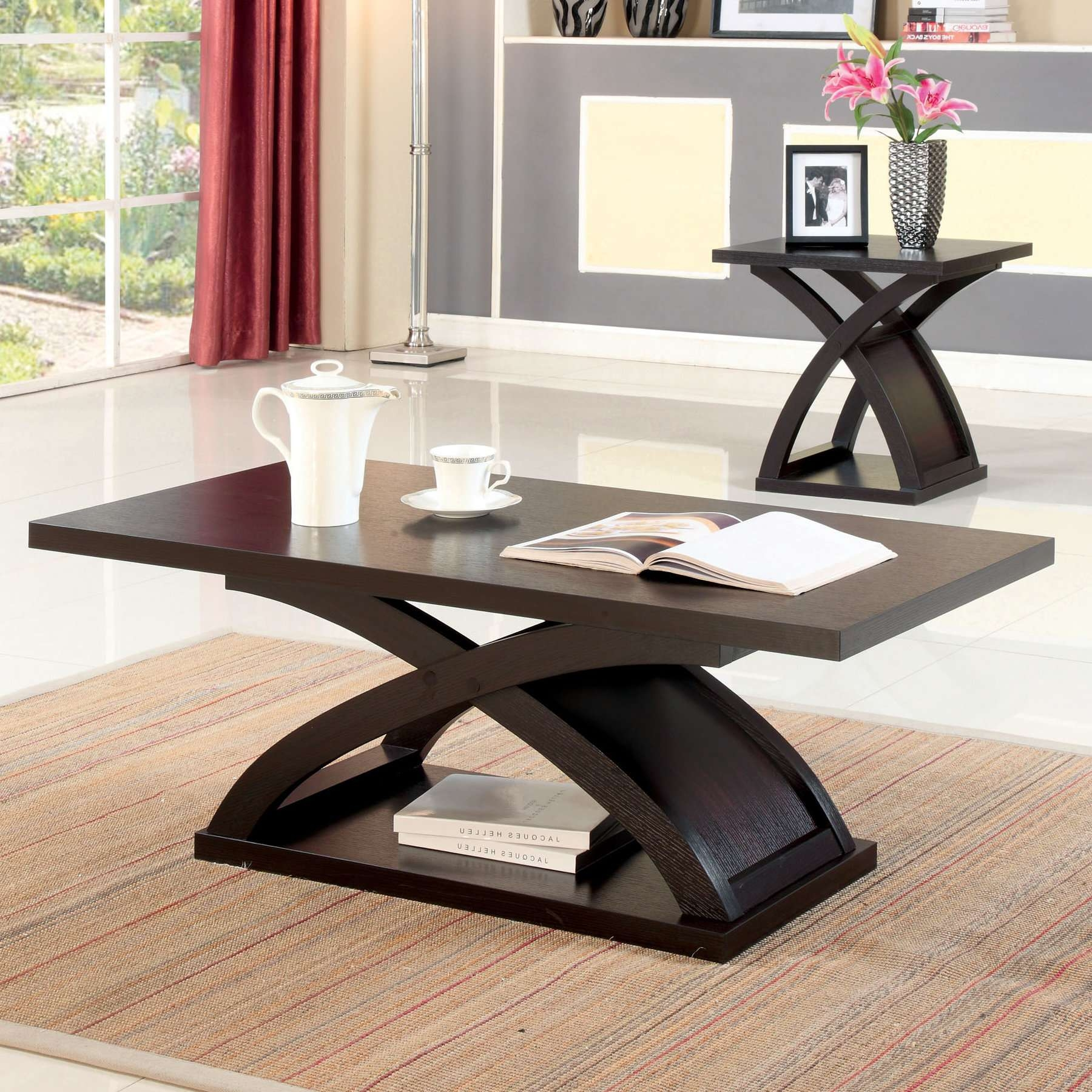 Trendy Desk Coffee Tables In Wade Logan Annica Coffee Table & Reviews (View 18 of 20)