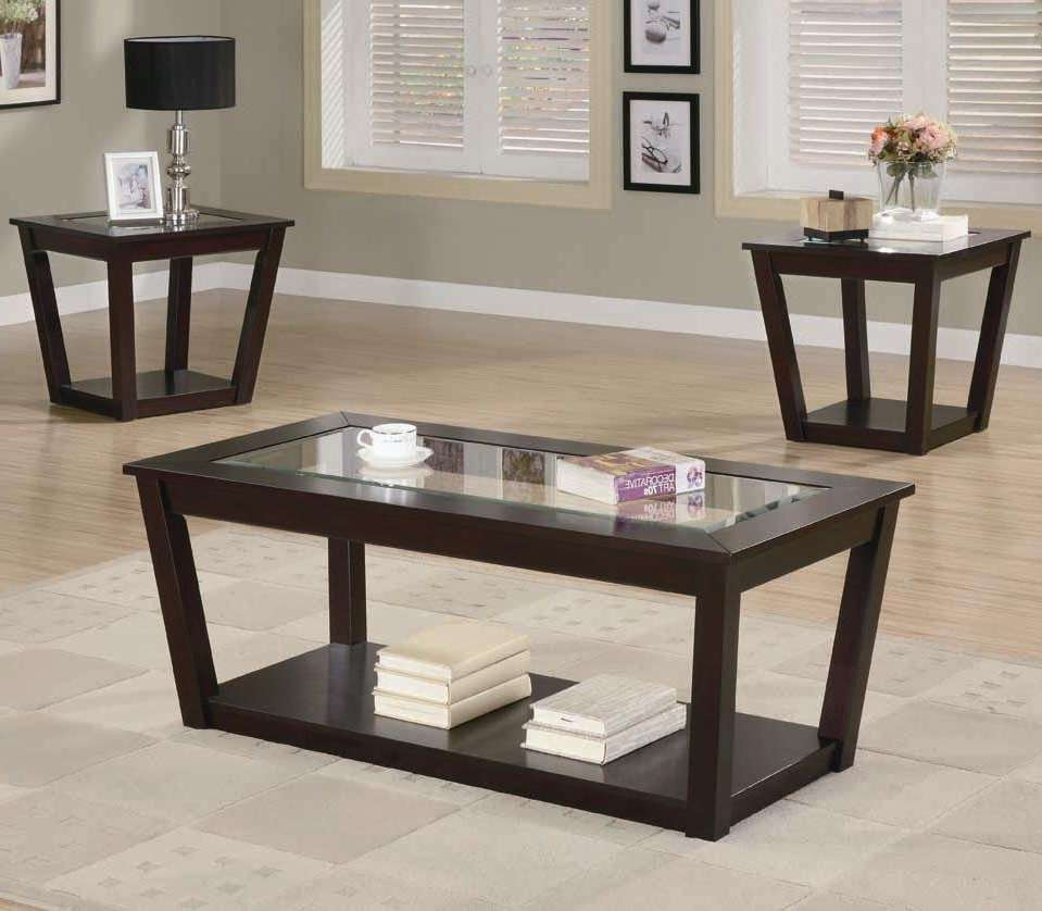 Trendy Espresso Coffee Tables Pertaining To Coffee Tables : Beautiful Home Espresso Coffee Table End Tables (View 19 of 20)
