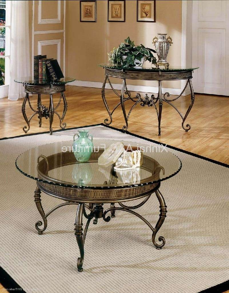 Trendy Glass And Metal Coffee Tables Pertaining To Coffee Tables : Photos Square Glass Top Metal Coffee Table Round (View 6 of 20)