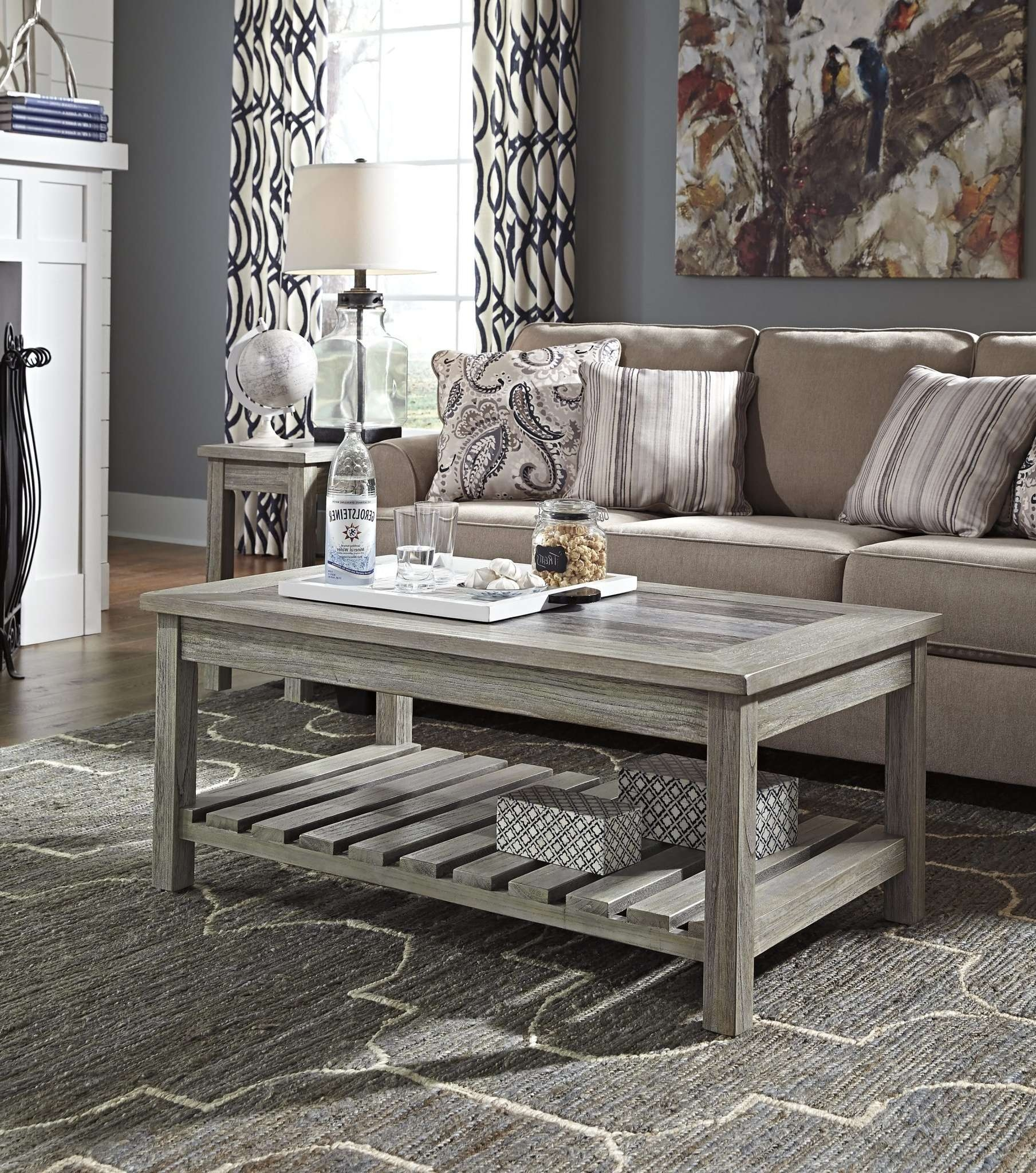 Trendy Grey Coffee Table Sets For Best Furniture Mentor Oh: Furniture Store – Ashley Furniture (View 12 of 20)