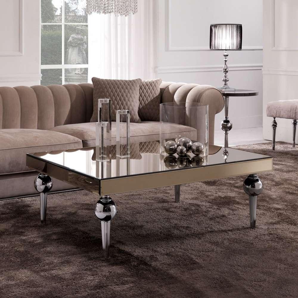 Trendy Italian Coffee Tables Regarding Italian Coffee Tables Uk New Designer Italian Mirrored Venetian (View 19 of 20)