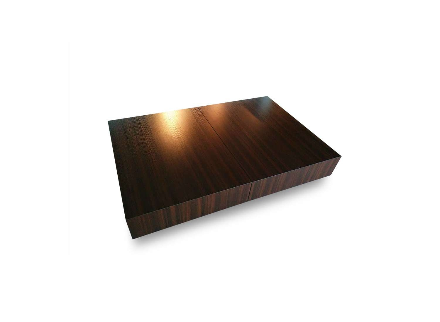 Trendy Low Rectangular Coffee Tables Regarding Transforming Box Coffee To Dining Table (View 16 of 20)