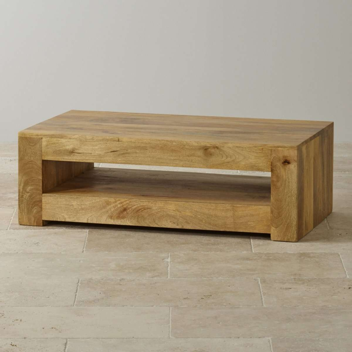 Trendy Mango Wood Coffee Tables Inside Mantis Light Coffee Table In Solid Mango (View 17 of 20)