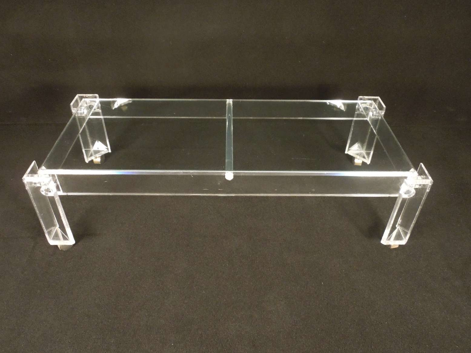 Trendy Perspex Coffee Table Pertaining To Unique Design Ideas Of Lucite Coffee Tables (View 11 of 20)