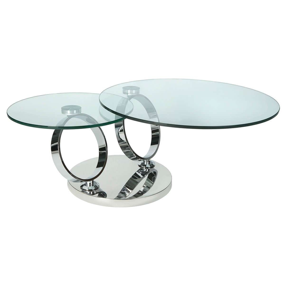 Featured Photo of Revolving Glass Coffee Tables