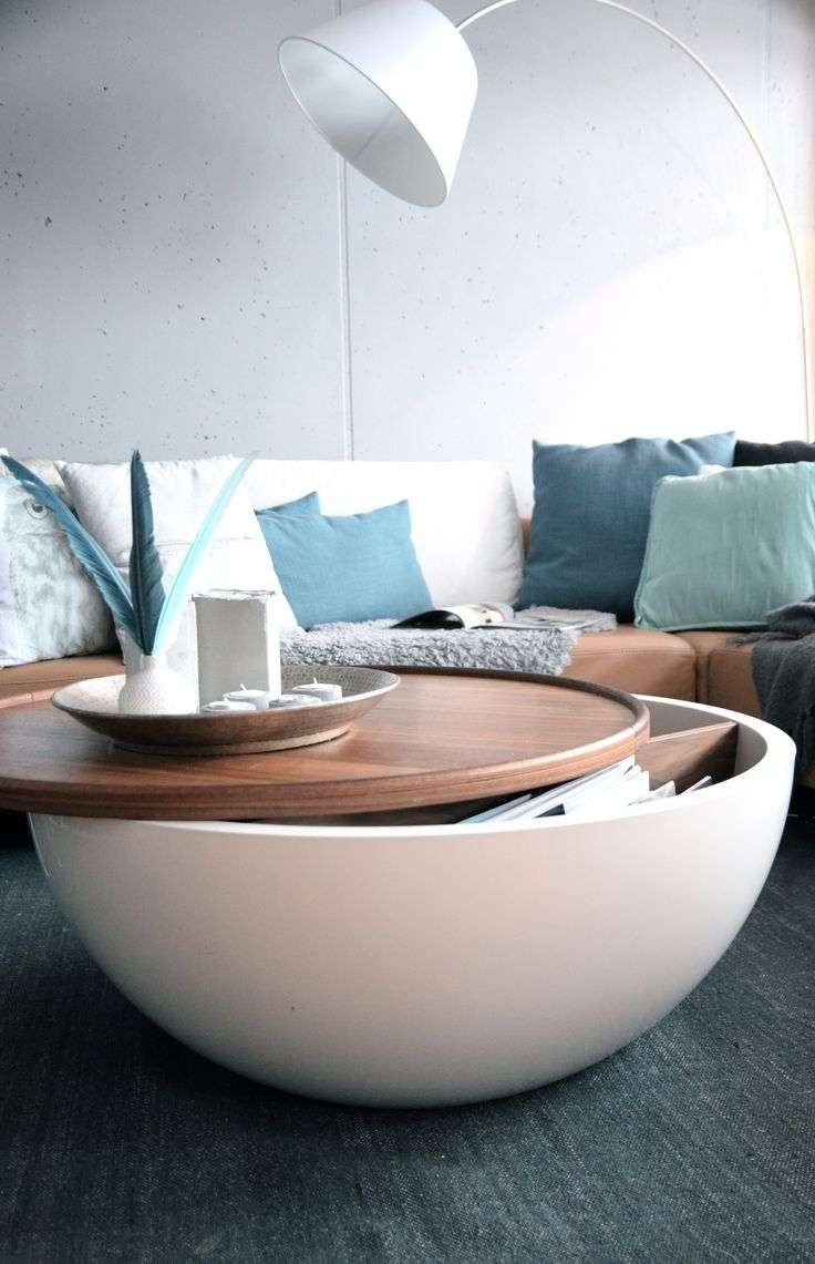 Featured Photo of Round Coffee Tables With Storages