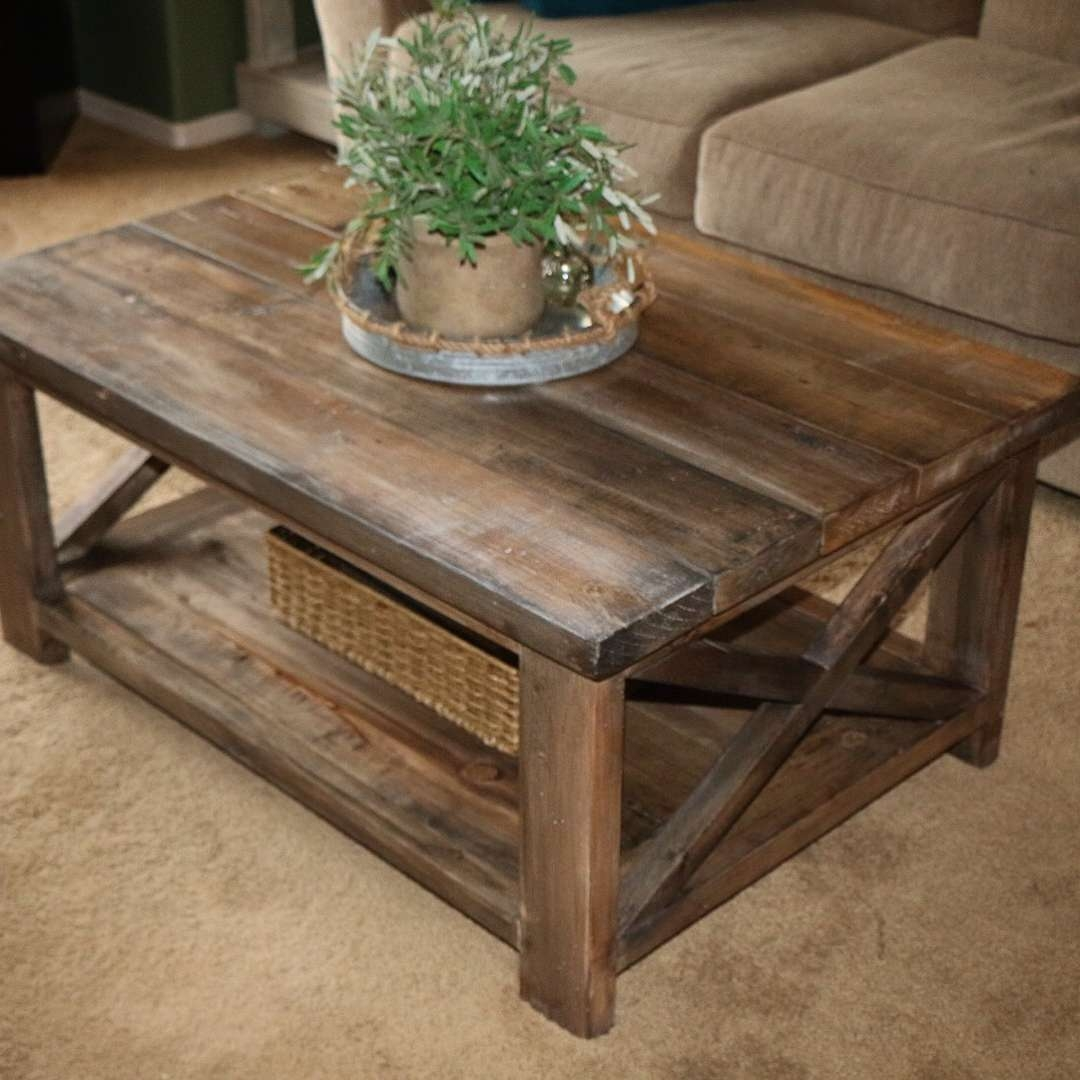 Featured Photo of Rustic Looking Coffee Tables