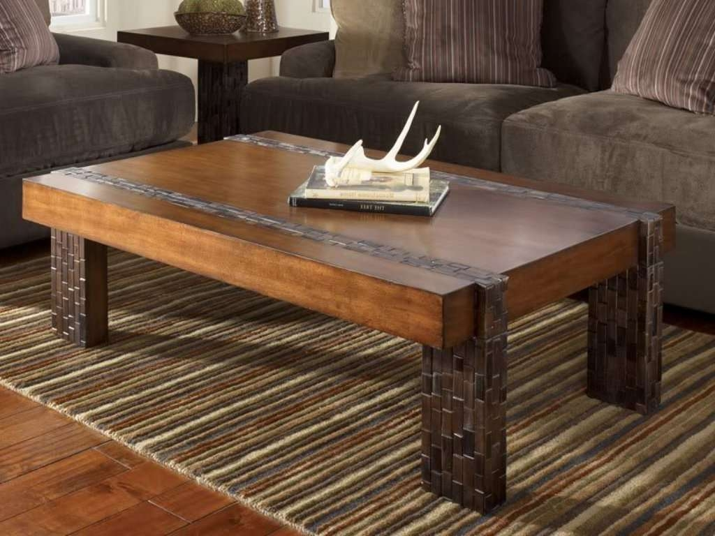 Trendy Rustic Wood Diy Coffee Tables With Build Rustic Wood Coffee Table (View 20 of 20)