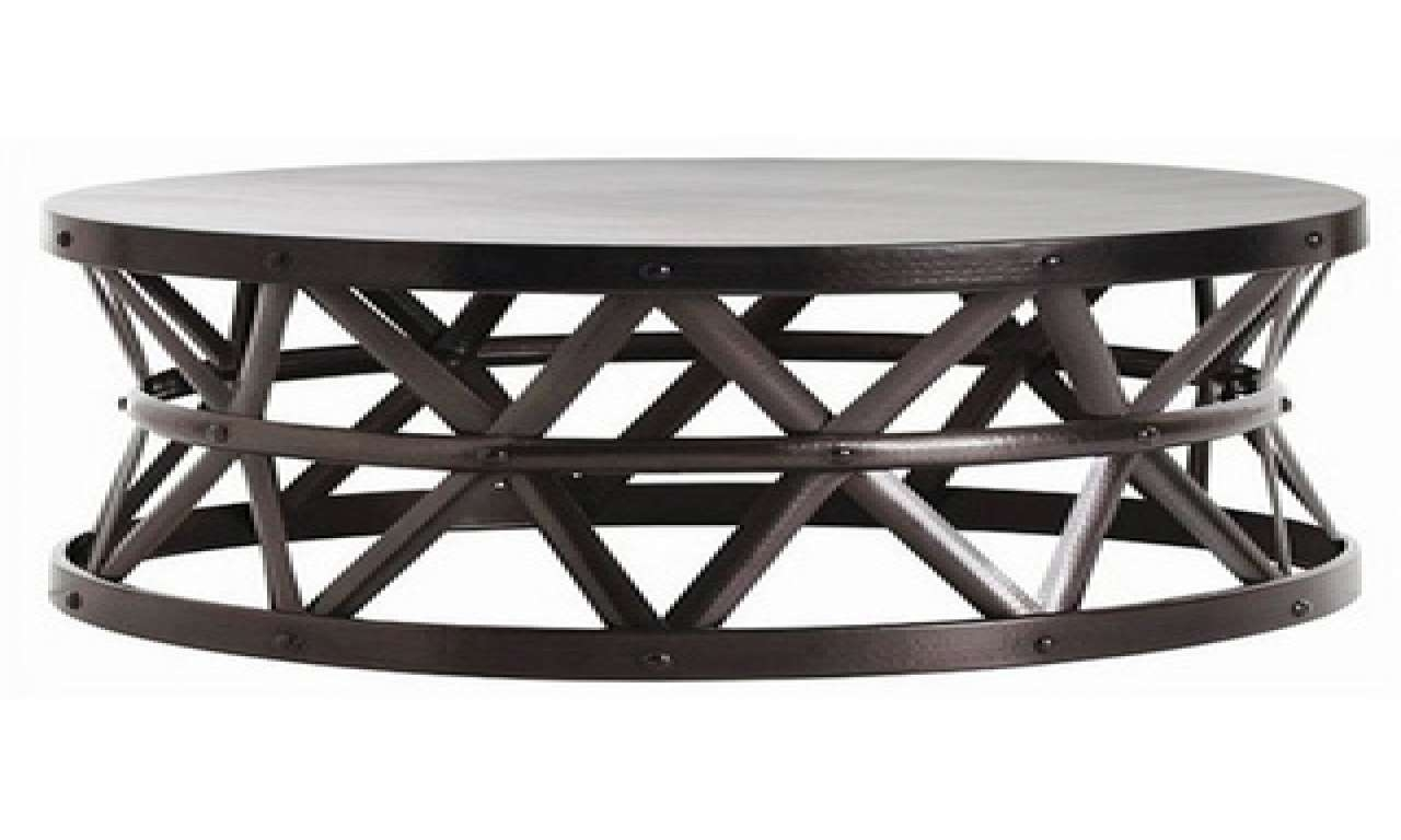 Trendy Silver Drum Coffee Tables For Hammered Drum Cross Coffee Table • Coffee Table Design (View 17 of 20)