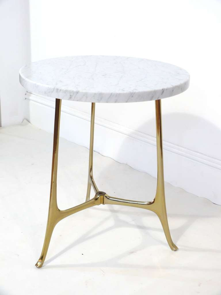 Exceptionnel Trendy Small Marble Coffee Tables Inside Furniture: Fascinating Marble Side  Table For Modern Living Room