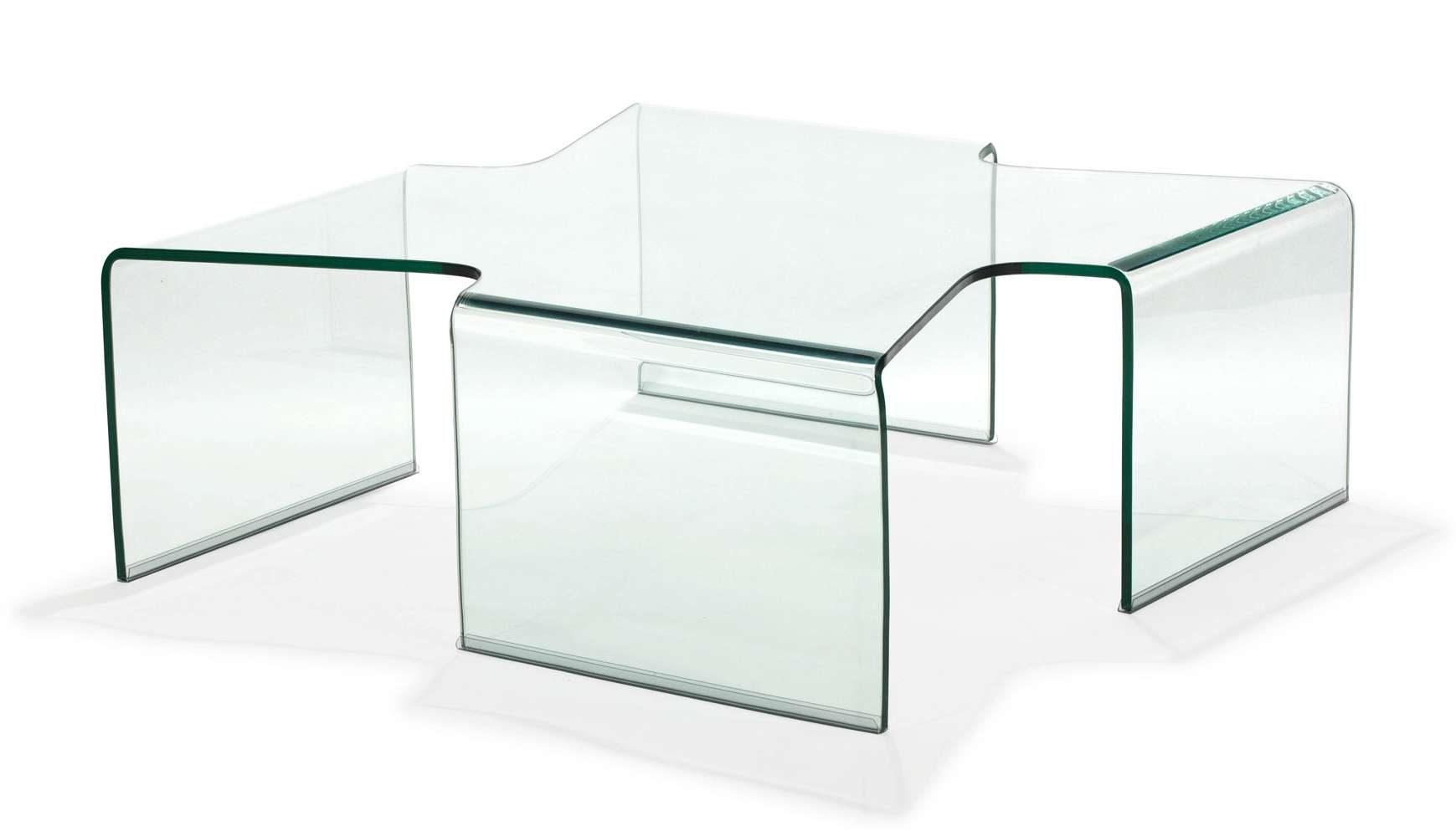 Trendy Transparent Glass Coffee Tables Intended For Tempered Glass Coffee Table Madonna Tempered Glass Coffee Table (View 19 of 20)