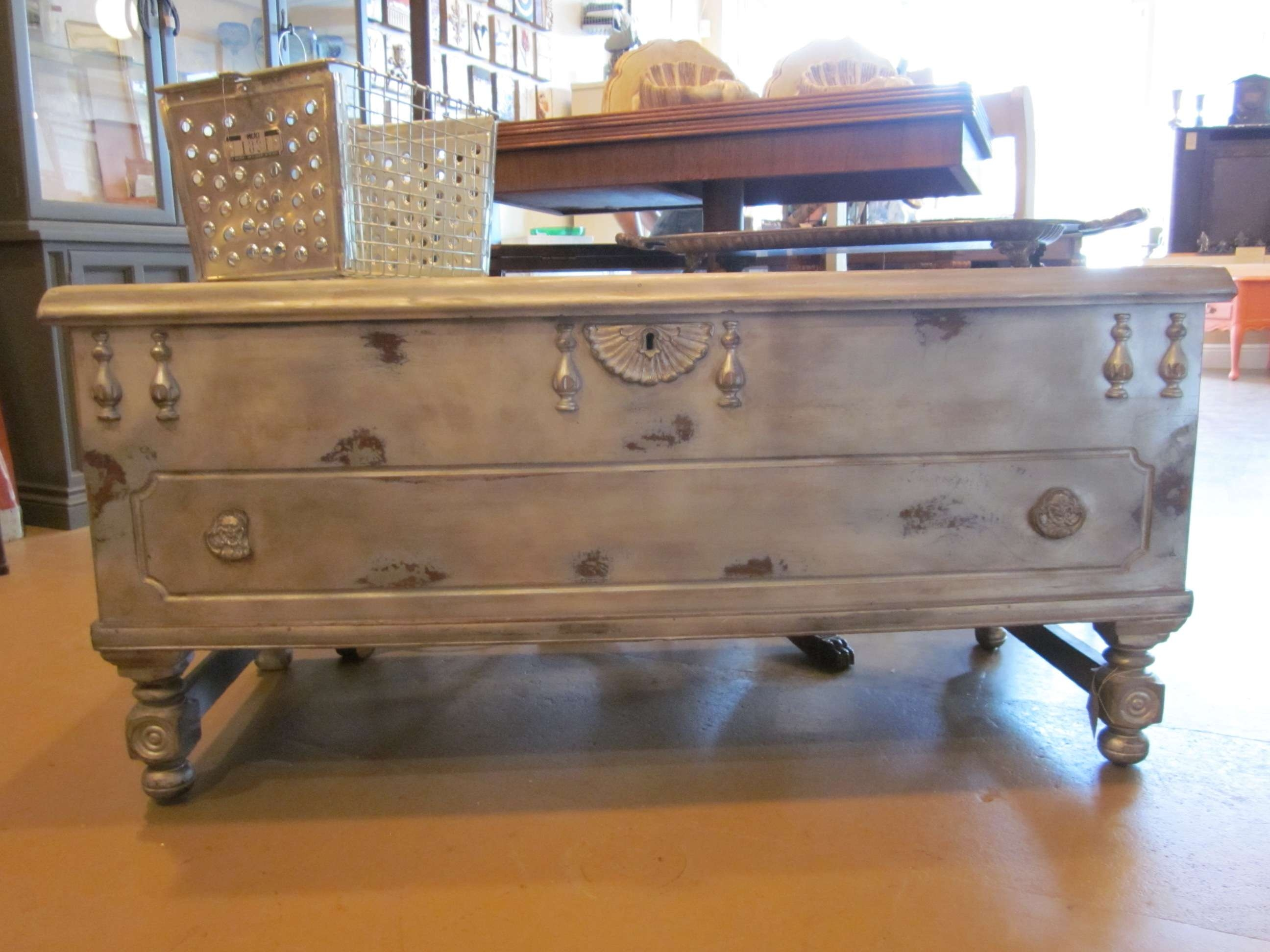 Trendy Wooden Trunks Coffee Tables Inside Coffee Tables : Large Trunk Coffee Tables Chest Table Remarkable (View 14 of 20)