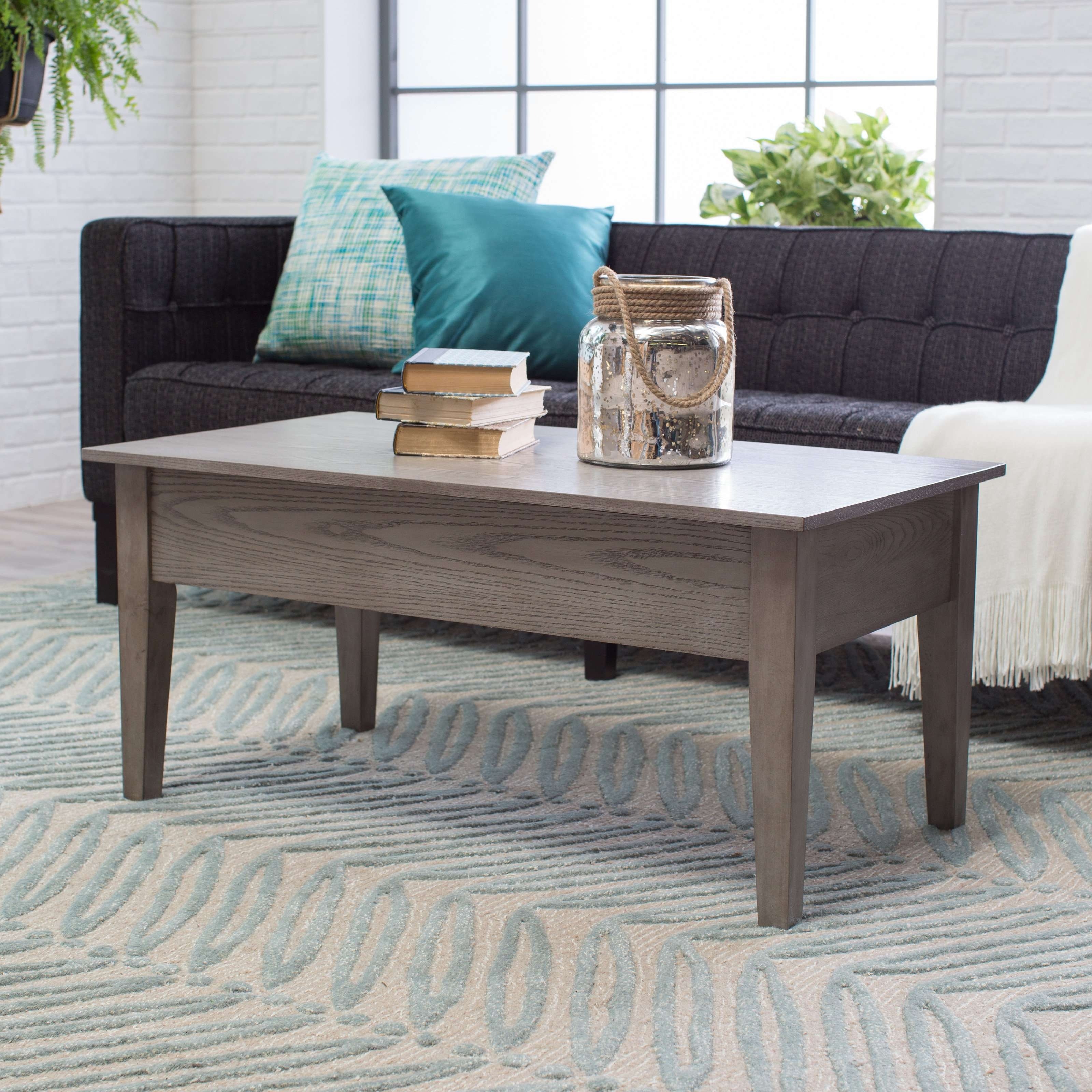 Turner Lift Top Coffee Table – Gray (View 6 of 20)