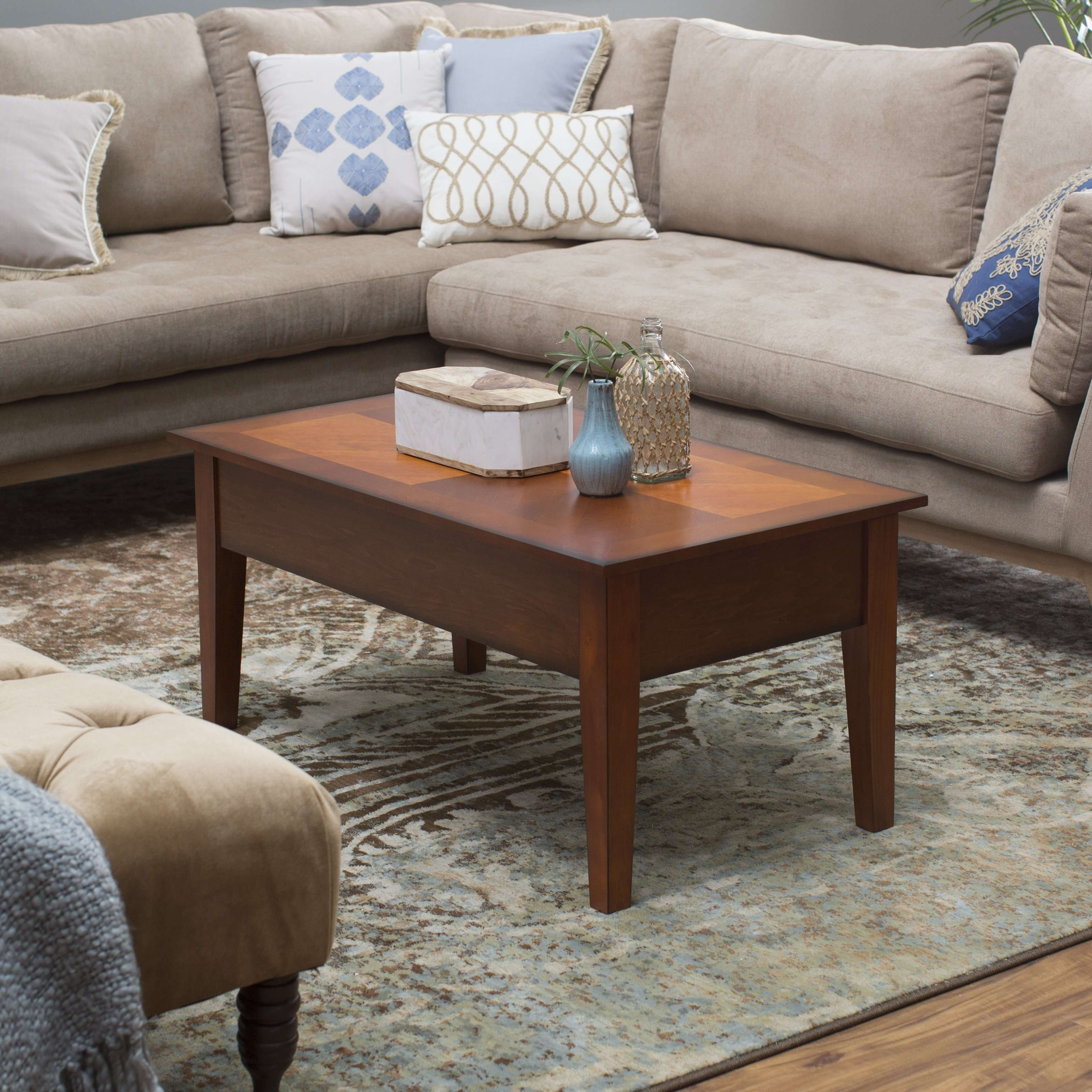 Turner Lift Top Coffee Table – Oak (View 19 of 20)