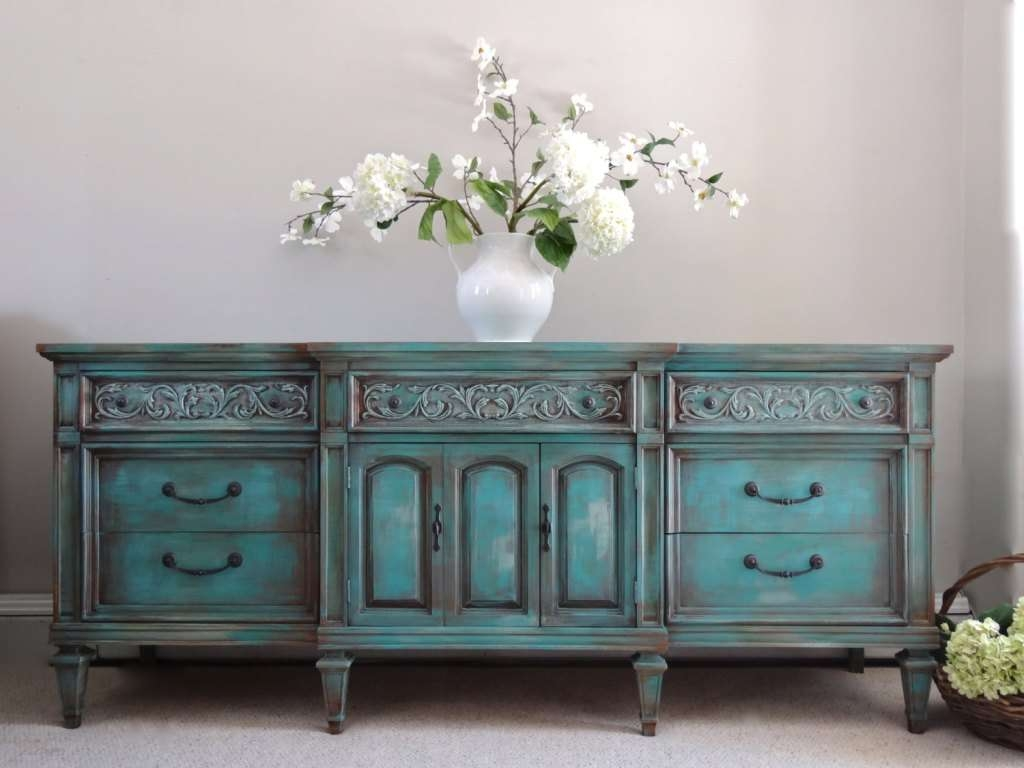 Turquoise Sideboard Interior Design — Rocket Uncle Rocket Uncle For Turquoise Sideboards (View 9 of 20)