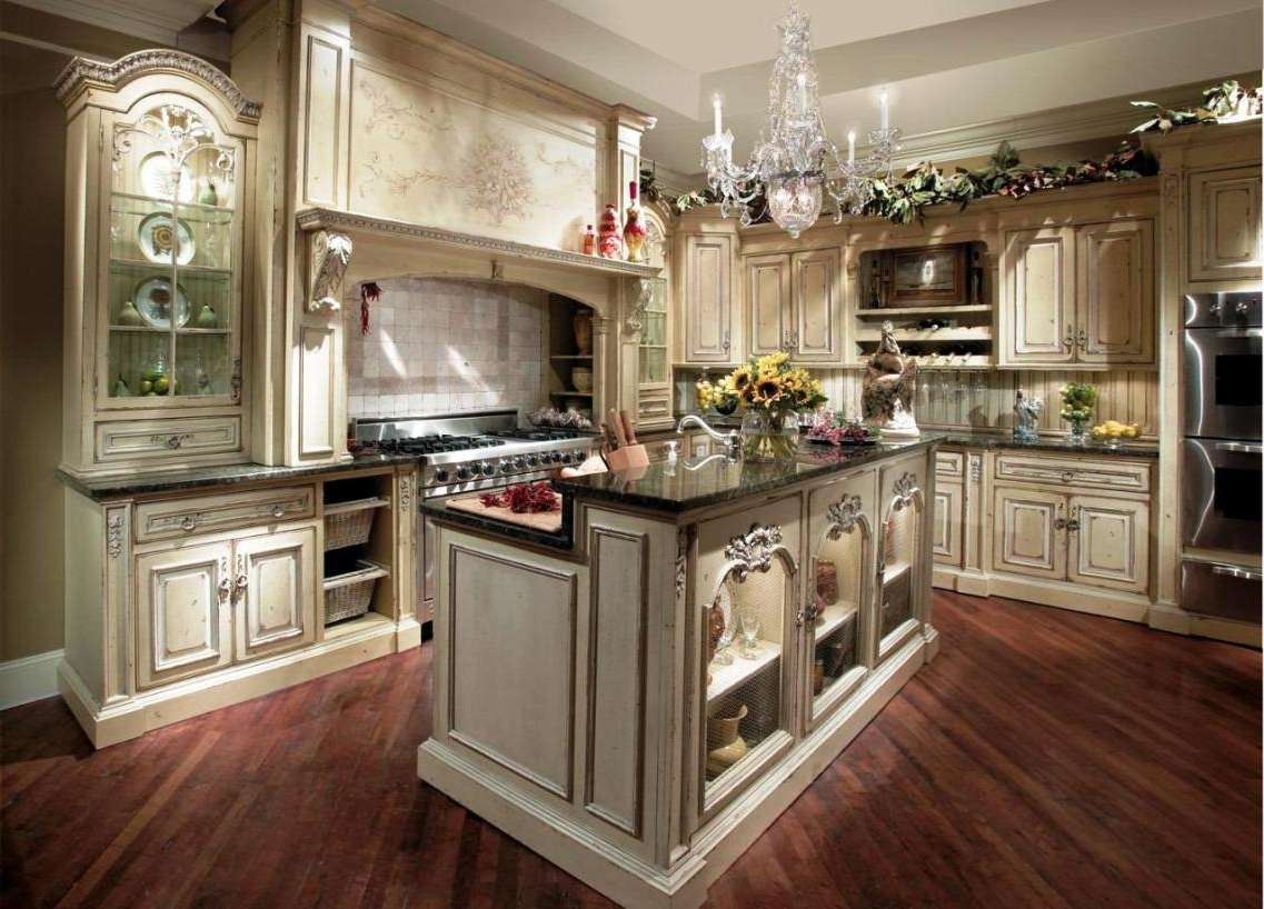 Tv : Awesome French Country Tv Cabinets Beautiful White Black Wood Regarding French Country Tv Cabinets (View 9 of 20)