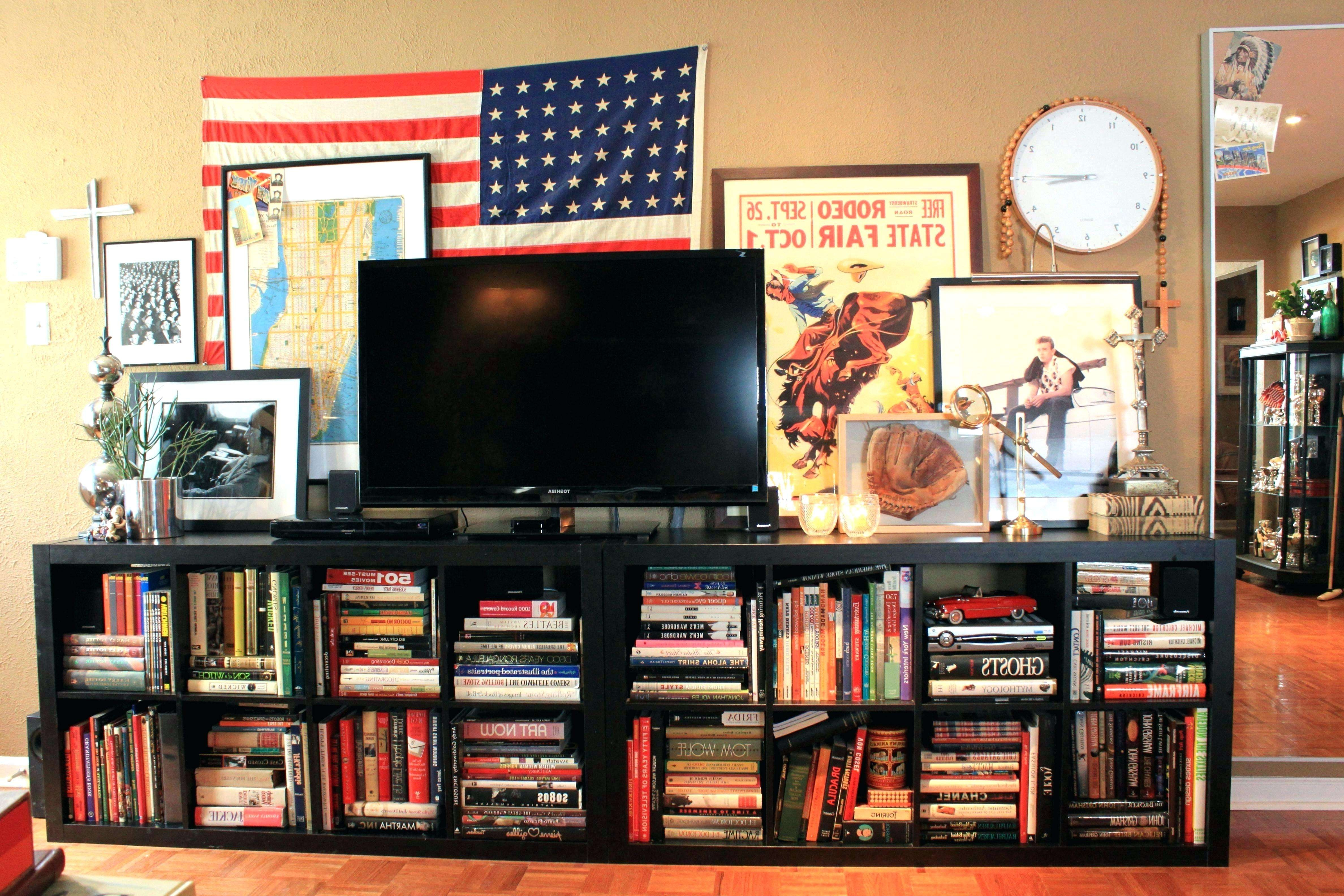Tv Bookcase Unit Awesome Tv Stand Tv Stand With Bookshelves Tv Within Tv Cabinets And Bookcase (View 13 of 20)