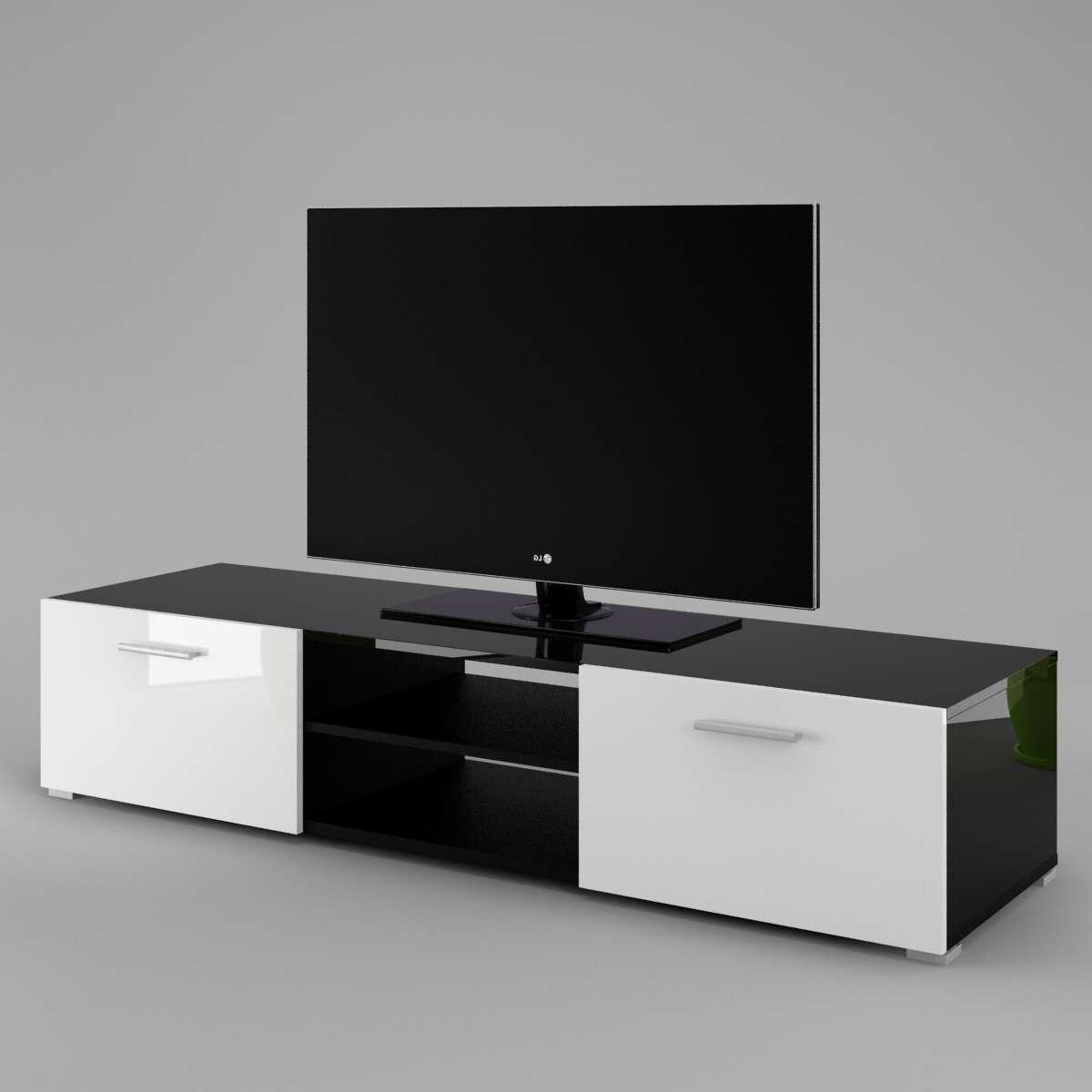 Tv Cabinet Luna – Labi Furniturelabi Furniture In Black Gloss Tv Cabinets (View 12 of 20)