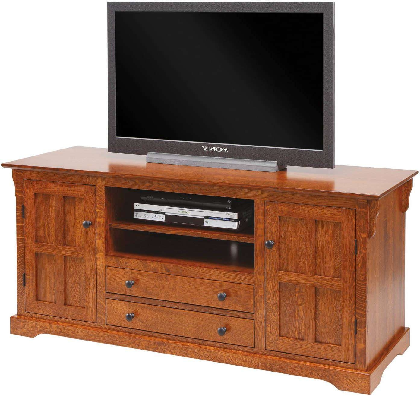 Tv Cabinets And Tv Stands – Brandenberrry Amish Furniture Within Maple Tv Cabinets (View 19 of 20)