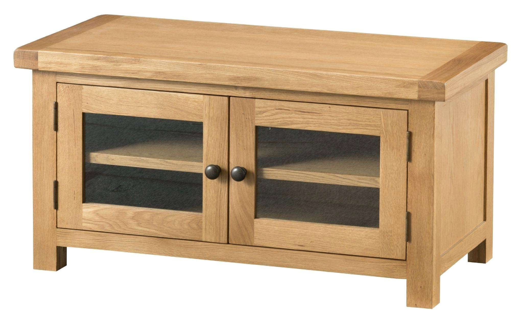 Tv Cabinets For Flat Screens With Doors Wall Mount Oakley Rustic With Oak Tv Cabinets For Flat Screens With Doors (View 20 of 20)