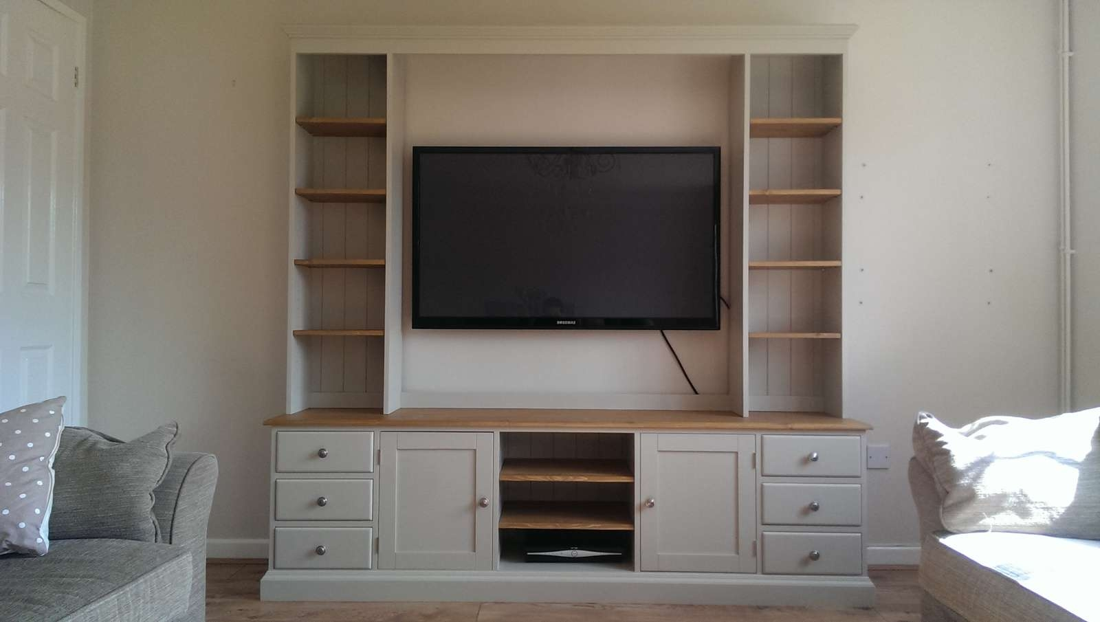 Tv / Entertainment Unit – Pine, Oak, Painted And Bespoke Furniture Throughout Bespoke Tv Cabinets (View 9 of 20)