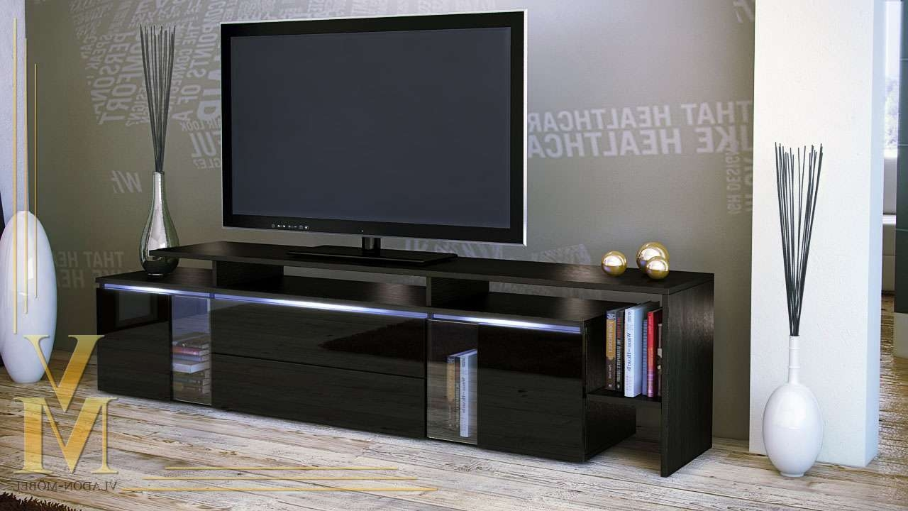 Tv : High Gloss Black Tv Cabinet Amazing High Gloss Tv Cabinets In Black Gloss Tv Cabinets (View 18 of 20)